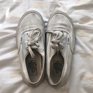 White Vans USED and loved